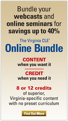 Virginia CLE Online Bundle