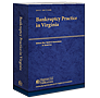 Bankruptcy Practice in Virginia  law book