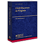 Civil Discovery in Virginia law book