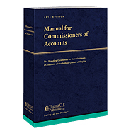 Manual for Commissioners of Accounts