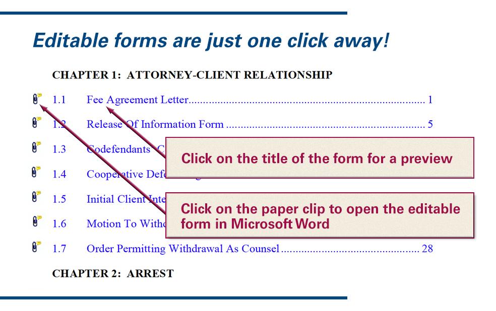 Virginia Criminal Practice Forms