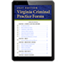 Virginia Criminal Practice Forms law book