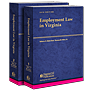 Employment Law in Virginia law book