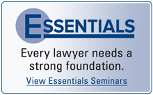 Essentials Seminars