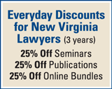 New Virginia Lawyers
