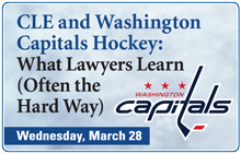 CLE and Washington Capitals Hockey