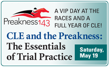 CLE and the Preakness