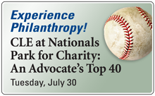 CLE at Nationals Park for Charity