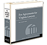 Fee Agreements for Virginia Lawyers  law book