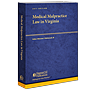 Medical Malpractice Law in Virginia law book