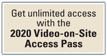 2019 Video-on-Site Access Pass